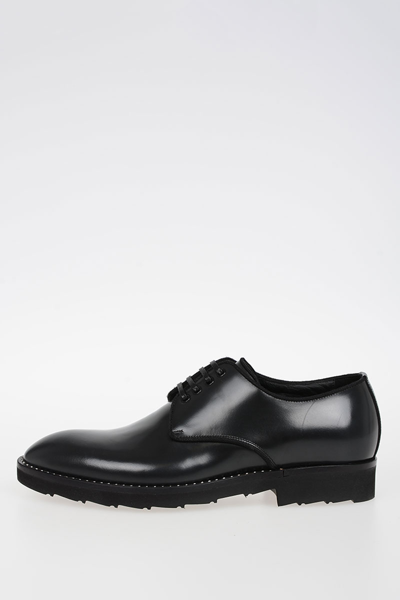 f8b5414bba Dolce   Gabbana Men Lace up Shoes CORREGGIO in Leather - Glamood Outlet