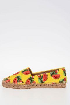 Watermelon Printed Espadrillas
