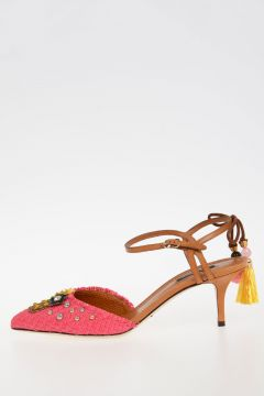 7cm Embroidery Sandals