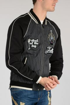 Silk and Cotton Bomber