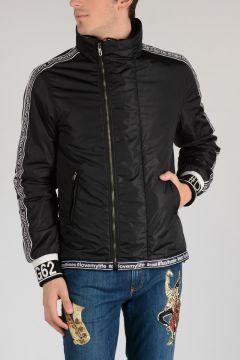 Nylon Embroidered Jacket
