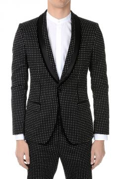 Silk and Cotton Smoking blazer