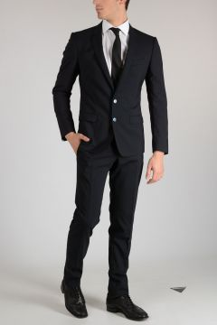 Stretch Virgin Wool Suit