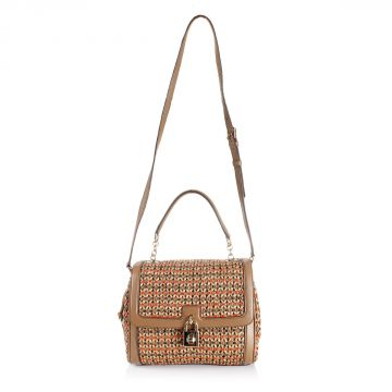 Intertwined Straw Handbag Mod. RAGUSA