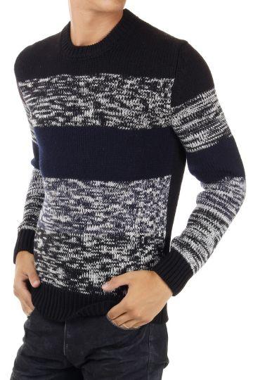 Maglia in lana girocollo