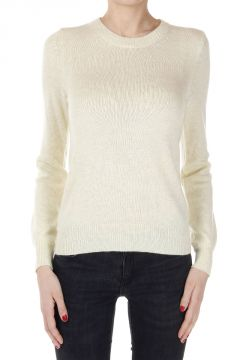 Cashmere Mixed Round Neck Sweater