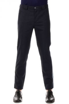 Cotton and Virgin Wool Trouser