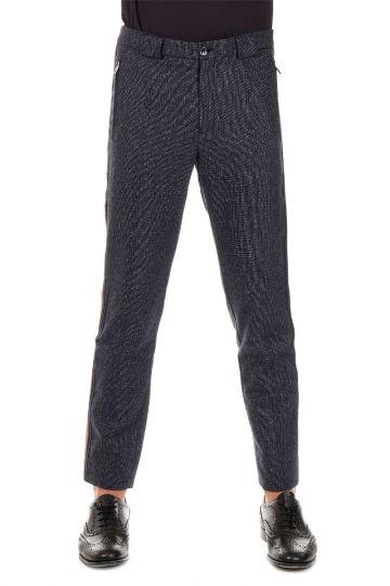 Pantalone in Lana e cotone