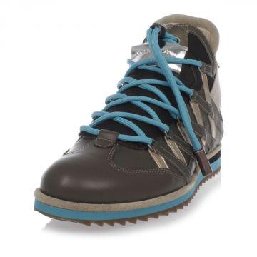 Sneakers Alte in Pelle di Agnello e Vitello