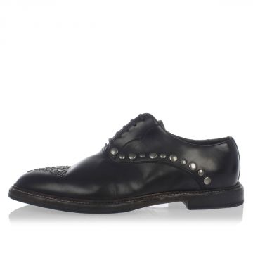 Leather Studded MARSALA francesina shoes