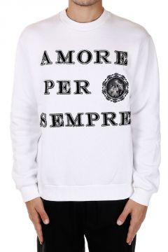 Round Neck AMORE PER SEMPRE Sweatshirt