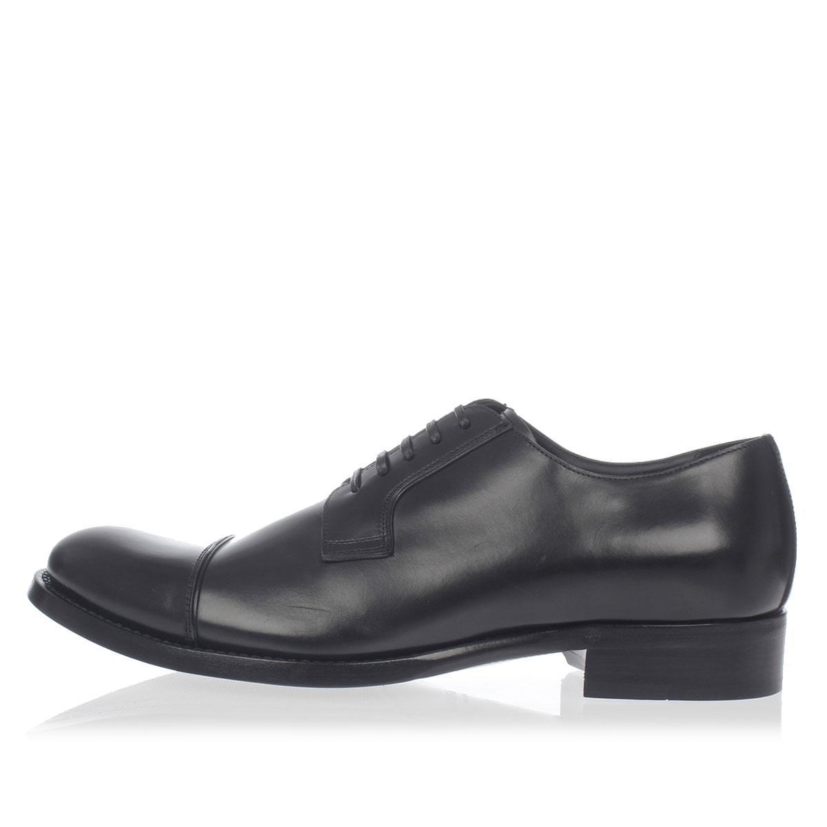 79380ec14d29 Dolce   Gabbana Men Brushed Leather Oxford Shoes - Glamood Outlet