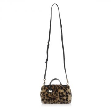 Visone Fur and Ayers Skin mini Bag
