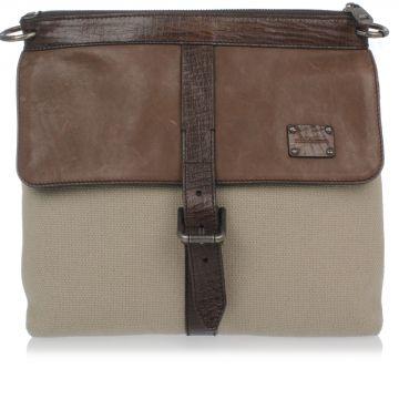 Flax Messenger Shoulder-Bag