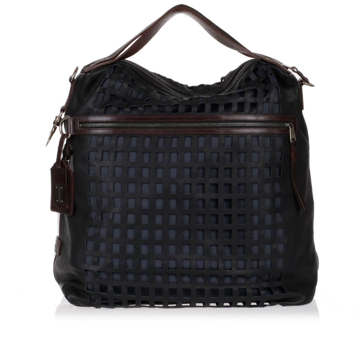 762bdd7d68 Dolce   Gabbana · Messenger Shoulder-Bag made with Canvas and Leather