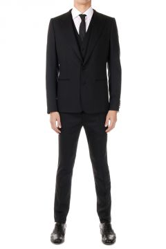 Virgin Wool Stretch Suit