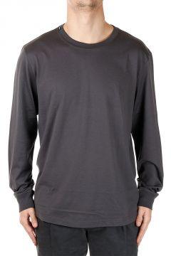 T-shirt Maniche Lunghe in Cotone