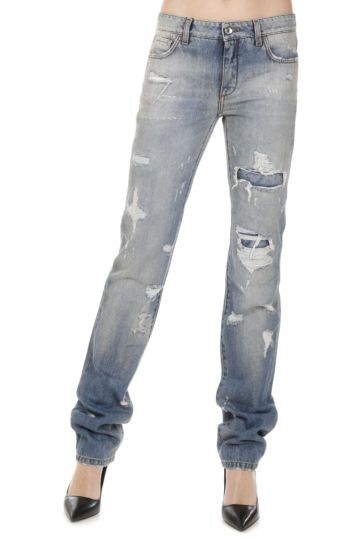Destroyed Jeans 18 cm