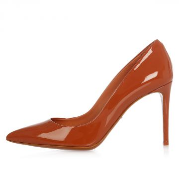 Patent Leather Decollettes  9 cm