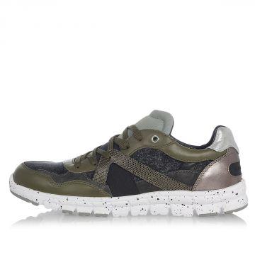 Sneakers NEW JAMAICA in Pelle