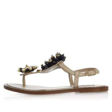 Iguana Printed Leather PORTOFINO Sandals