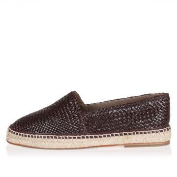 Braided Leather TREMITI Espadrillas