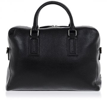 Handbag in Grained Leather