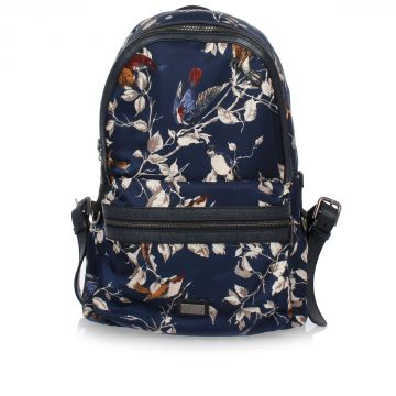 Flower Printed Backpack