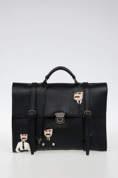 Leather MEDITERRANEO Briefcase
