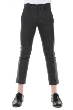 Cotton and Virgin Wool Pants