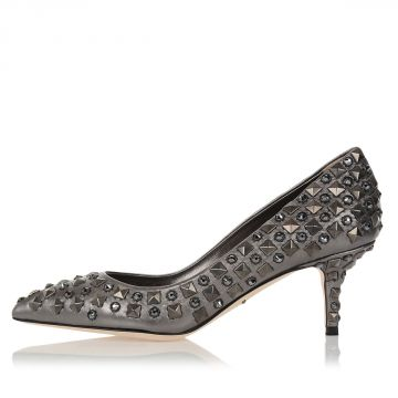 Leather Studded Pumps