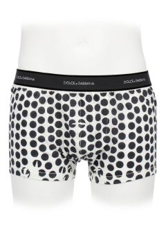 Polka Dot Cotton Boxer