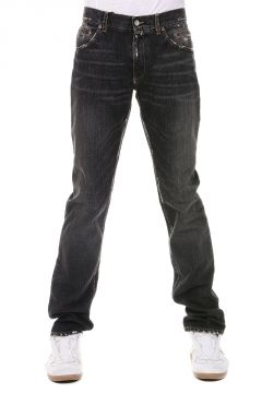 Jeans in Denim Stonewashed 19 cm