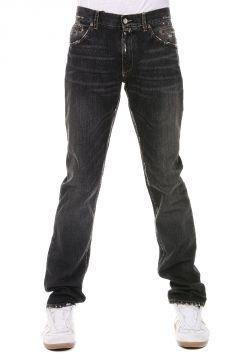 Stonewashed Denim Jeans 19 cm