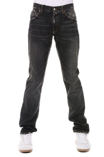 Jeans in Denim Stonewashed 19 cm