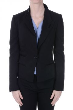 Virgin Wool blend Blazer with Lace