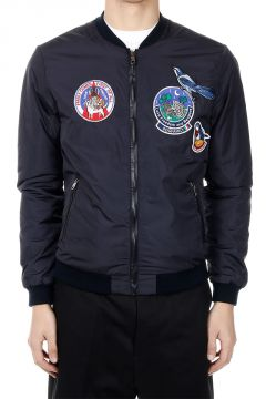 Nylon embroidery Jacket