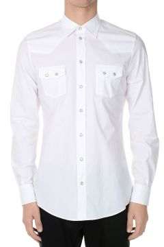 Camicia in cotone Stretch