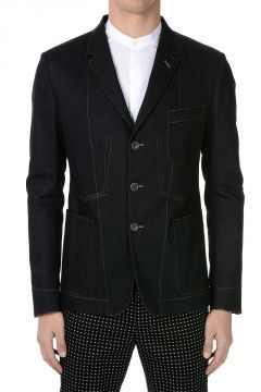 Cotton Stretch Blazer