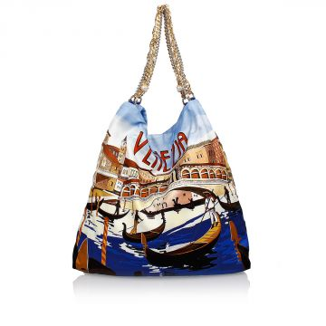 Silk Printed VENEZIA Bag