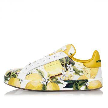 Sneakers in Pelle Stampate