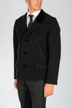 Wool & Cotton Peacoat