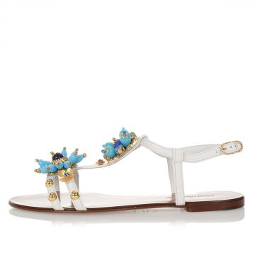 Iguana Skin BIANCA Sandals