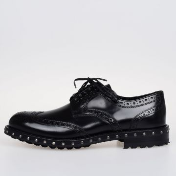 BOY DONNA Leather Derby Shoes