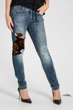 Jeans PRETTY In Denim Stretch 13 cm