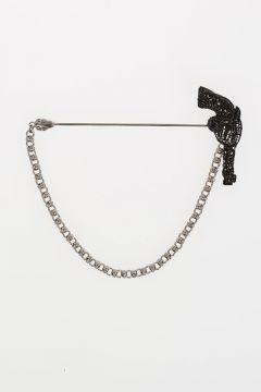 Pistol Brooch
