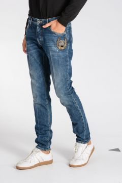 17 cm Embroidery Jeans