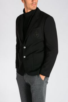 Single Breasted Virgin Wool Jacket