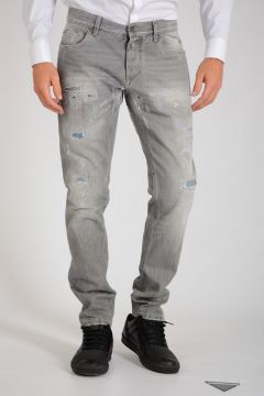 17cm Distressed Denim Jeans
