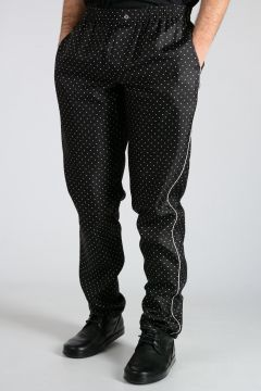 Polka Dot Silk Pajama Pants